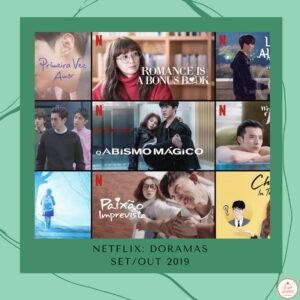 Netflix: doramas de setembro e outubro no catálogo 2019
