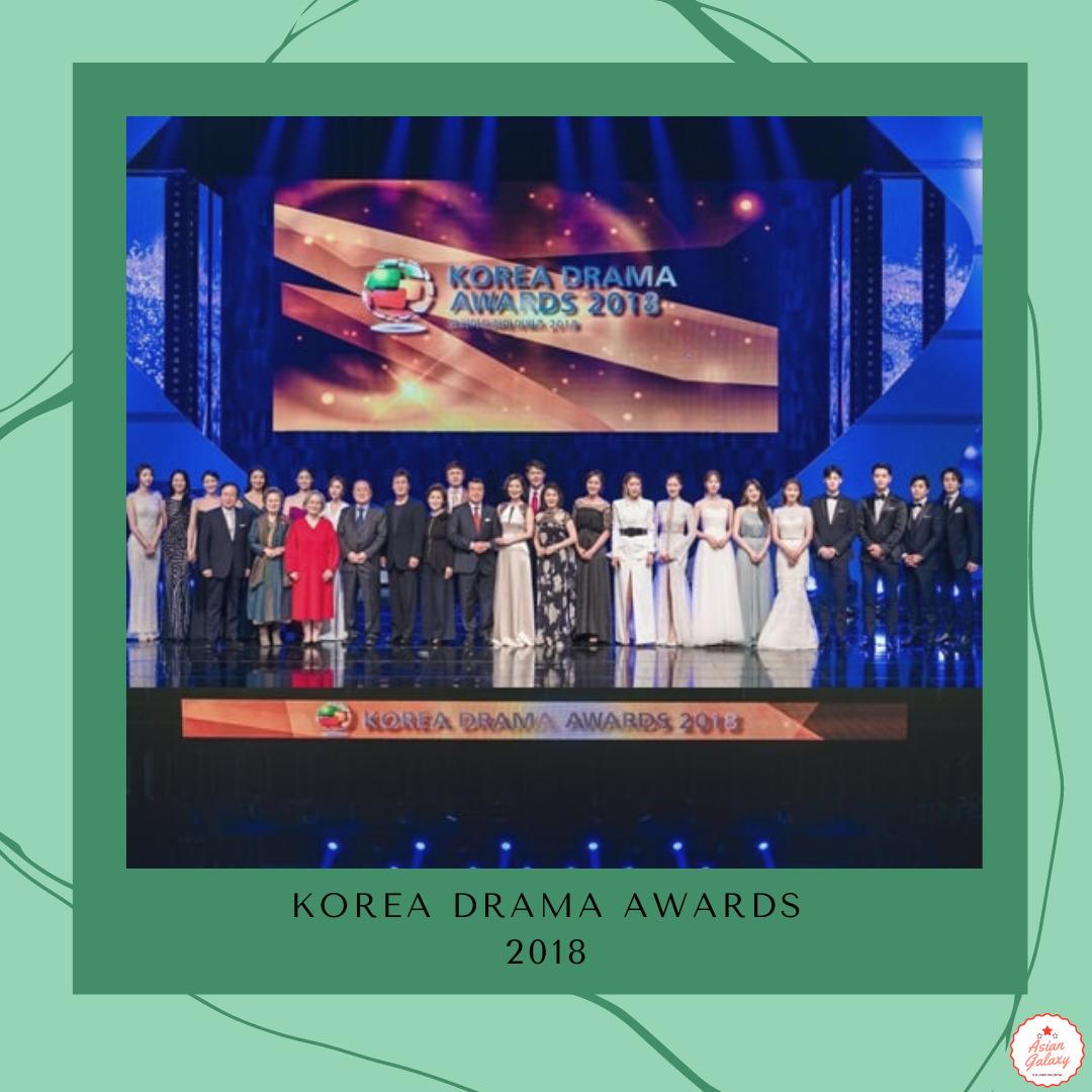 Read more about the article Vencedores do Korea Drama Awards 2018