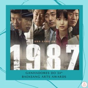 Read more about the article Confira os ganhadores do 54º Baeksang Arts Awards