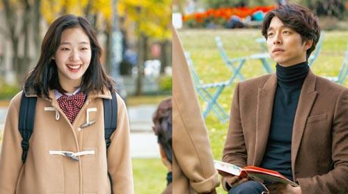 Kim Go Eun e Gong Yoo em Goblin