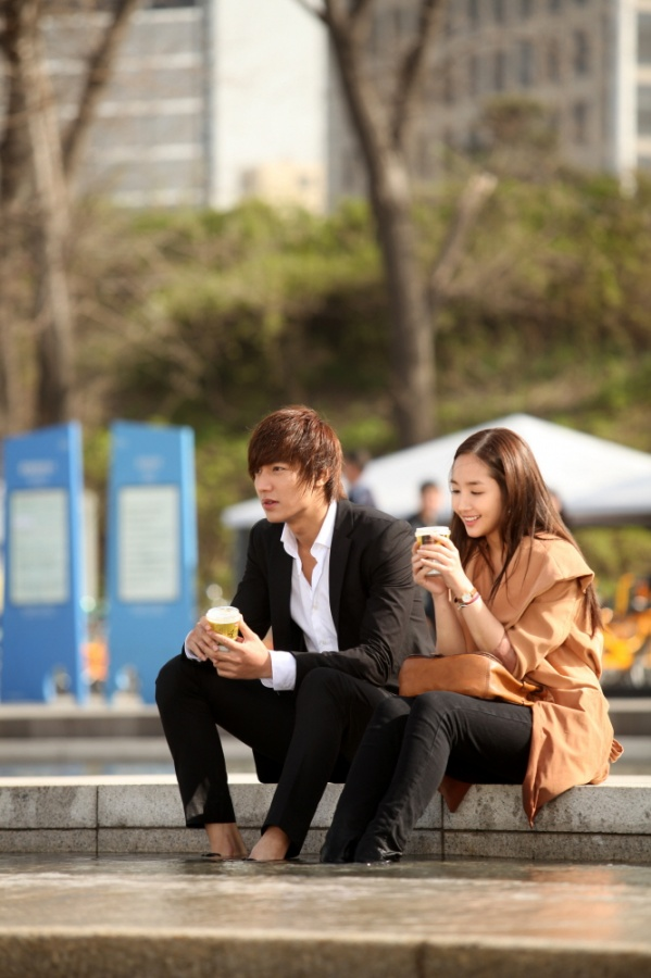 Lee Min Ho e Park Min Young