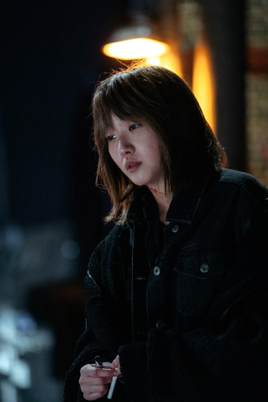 Kim Go Eun como Luna em O Rei Eterno