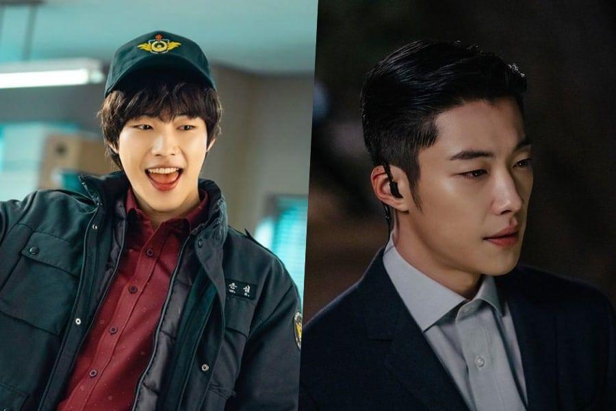 Foto do ator Woo Do Hwan em seus dois personagens em O Rei Eterno